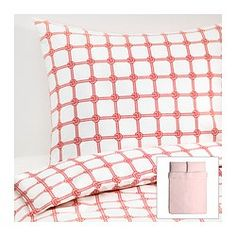 Find the perfect bed linens to match your bedroom décor with IKEA's selection of duvet covers, sheets, pillow cases, bedding sets and more at affordable prices. Dorm Bedding, Linen Bedding, Bedding Sets, Bed Linen, Bed Covers, Ikea, Throw Pillows, Bedroom, House
