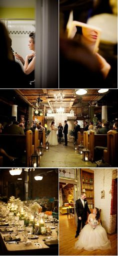 So so cozy and cool Chicago Winter Wedding from LOLA Event Productions | Style Me Pretty