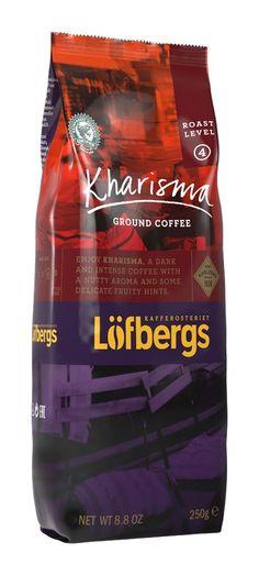 KHARISMA Roast Level 4/5, 250g, Ground