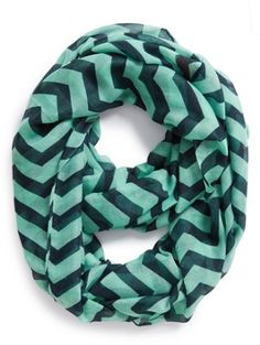 #navy and #mint chevron scarf  http://rstyle.me/n/jtq55pdpe