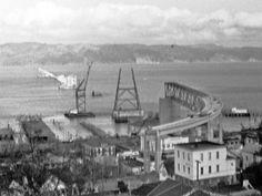 Astoria Bridge construction in the 1960's courtesy of astoriamegler50.com