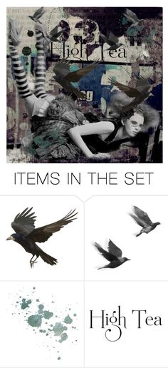 """""""The Birds"""" by tattered-rose ❤ liked on Polyvore featuring art"""