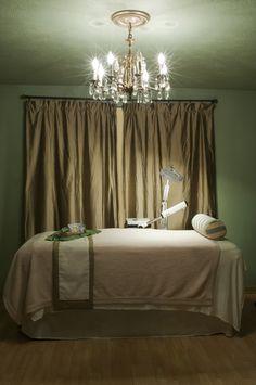 modern glamour spa design