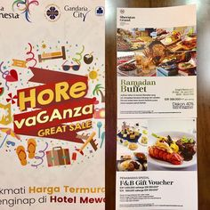 Visit our booth @horevagaza great sale! Friday March 10- Sunday 12 March. Get our offers for Ramadhan Buffet F&B Gift Voucher and best deal for rooms