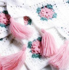Get this free Blush Rose crochet pattern now:  http://www.crochetmagazine.com/newsletters/talkingcrochet/pages/TCNL2208_patt2.html. Courtesy of Talking Crochet. Sign up here: www.AnniesNewsletters.com.