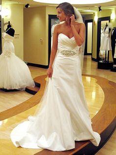 Tara Keely wedding dress & Lazaro Perez beaded belt (from Say Yes to the Dress) omg yes please