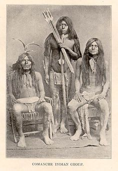 Comanche Indian group