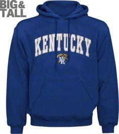 kentucky big and tall hoodie, kentucky wildcats 3x 3xl sweatshirts, kentucky 4x 5x 6x hoodies, kentucky wildcats xlt-5xt hoodies, big and tall kentucky wildcats apparel