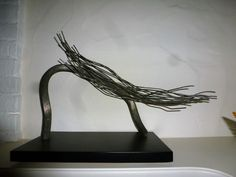 Marvelous F hn Metall Objekt von Matschinsky Denninghoff
