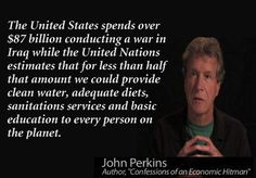 John Perkins, author of Confessions of an Economic Hitman
