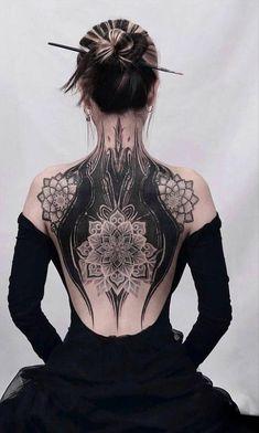 flower tattoo , back tattoo, floral tattoo ideas , tattoo design ,unique tattoo, woman tattoo, female tattoo, tattoo art , tattoo placement, ink tattoo , tattoo design for woman , meaningful tattoo, tattoo ideas, Summer tattoo design , girl tattoo Cover Up Back Tattoos, Back Tattoo Women, Body Tattoos, Girl Tattoos, Korea Tattoo, Henna, Black White Tattoos, Summer Tattoo, Flower Tattoo Back