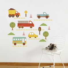 By Land fabric wall decal - UrbanBaby