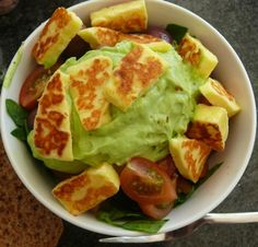 Yummy healthy salad idea