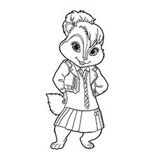 top 25 free printable alvin and the chipmunks coloring pages ... - Theodore Chipmunk Coloring Pages