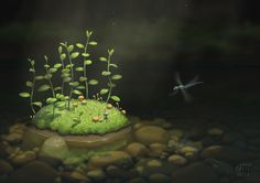 The Island by AndrewMcIntoshArt.deviantart.com on @DeviantArt