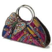 "Mary Frances Handbag - ""Flitter"""