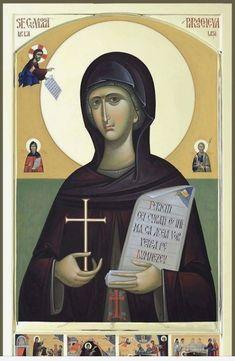Facebook Chinese Fabric, Byzantine Icons, Orthodox Icons, Ikon, Saints, Movie Posters, Painting, Female, Mosaics