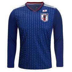 d46350010 2018 World Cup Jersey Japan LS Home Replica Blue Shirt 2018 World Cup  Jersey Japan LS Home Replica Blue Shirt
