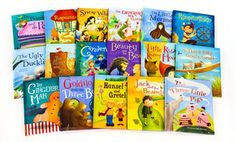 Groupon - Fairy Tales Collection 16-Book Set in [missing {{location}} value]. Groupon deal price: $49.99
