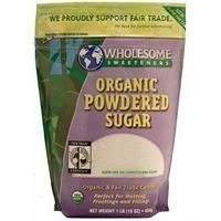 Wholesome Sweeteners Fair Trade Organic Powdered Sugar, 16-Ounce Pouches (Pack of 6) ( Value Bulk Multi-pack) - http://goodvibeorganics.com/wholesome-sweeteners-fair-trade-organic-powdered-sugar-16-ounce-pouches-pack-of-6-value-bulk-multi-pack/