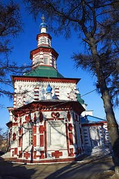 Iglesia de Santa Cruz, Irkutsk, Siberia, Rusia, Eurasia
