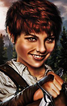 Alternative portrait for Alora in Baldur's Gate.