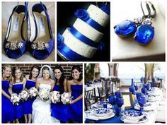 Royal Blue Wedding Inspiration fall/winter