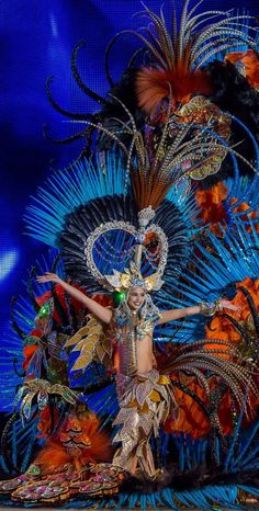 Reina del Carnaval 2014, Santa Cruz de Tenerife, Canary Islands, Spain