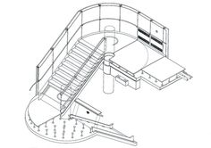 richard rogers stairs plan - Buscar con Google
