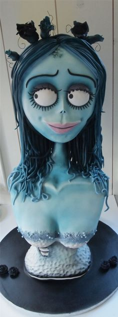 The Corpse Bride - yes this really is a cake! How awesome.