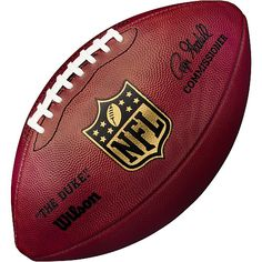 """Wilson """"the Duke"""" Official Leather Nfl Game Full Size Football Football Gear, Football Season, Football Field, Sport Football, Baseball, Indianapolis Colts, Pittsburgh Steelers, Official Nfl Football, All Nfl Teams"""