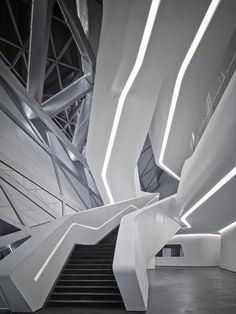 Guangzhou Opera House in Guangzhou, China. Architect Zaha Hadid Architects. Completed in 2010                                                                                                                                                                                 もっと見る