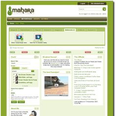 """Mahara - e-portfolio tool that integrates with Moodle, runs on open-source code. """"Collect, reflect on and share your achievements and development online, in a space you control"""""""