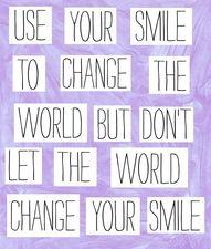 smile, smile, smile  NOW
