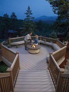 Timbertech Decking idea for the front porch.