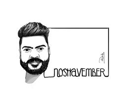 Beard self illustration