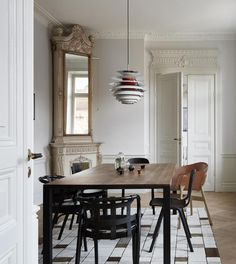 Turn of the century home with great pieces - via Coco Lapine Design blog
