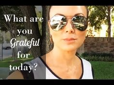 WHAT ARE TOU GRATEFUL FOR TODAY? with Tiffany Hendra