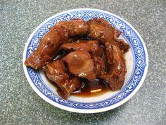 Soy Sauce Chicken Gizzards (豉油鸡胗, Si6 Jau4 Gai1 San2)