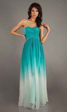 elegant prom dress, gradient prom dresses, unique prom dress, long prom dresses, gradient bridesmaid dress, cheap bridesmaid dresses, evening dress | Cheap prom dresses Sale
