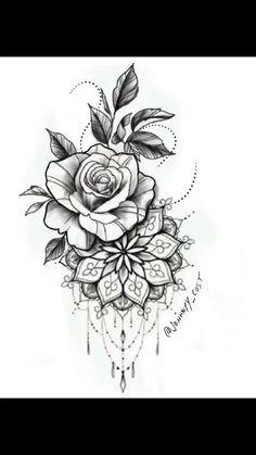 tattoos on black women \ tattoos for women ; tattoos for women small ; tattoos for moms with kids ; tattoos for guys ; tattoos for women meaningful ; tattoos with meaning ; tattoos for daughters ; tattoos on black women Rose Tattoos, Leg Tattoos, Body Art Tattoos, Small Tattoos, Sleeve Tattoos, Female Tattoo Sleeve, Pink Tattoos, Clock Tattoos, Floral Thigh Tattoos