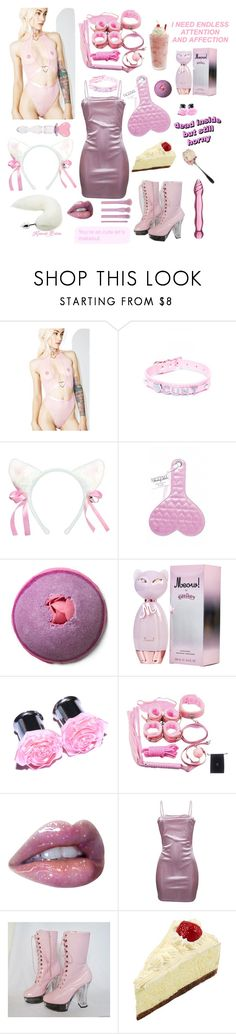 """It's My Birthday, So F*ck Me & Call Me Kitten"" by child-of-jove ❤ liked on Polyvore featuring Sugarbaby, WithChic and Forever 21"