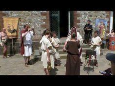 """Saalburg Aktionstag """"Gladiatoren"""" Teil 2 - YouTube"""