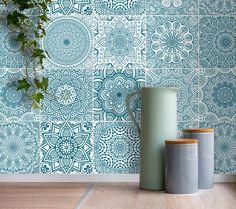 Fliesenaufkleber Fliesenaufkleber Mosaik Set 9 Stk 15x20cm Ein