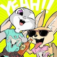 By: This actually fits my headcanons. I totally think Judy and Finnick will become friends! Disney Animated Films, Disney Films, Disney And Dreamworks, Zootopia Comic, Zootopia Art, Disney Zootropolis, Cute Disney, Zootopia Nick And Judy, Disney Animation