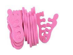 Teenie Toe Separators Designed For Kids, 12 Pack Jaylie http://www.amazon.com/dp/B00GU4PCB2/ref=cm_sw_r_pi_dp_F4Esvb0F0EFZF