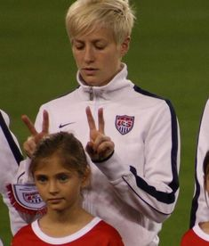 Bad day? BFF Pinoe would put that smile back on your face... | 19 Reasons Megan Rapinoe Would Make The Ultimate BFF