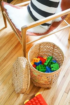 Kid-friendly Design Updates That Are Also Style Savvy - Francois et Moi #PlayroomSeating