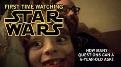 STAR WARS: Watch this 6yr old  Adorable First-Time Reaction. Bonus game: how many questions can he ask during the film? the answer may (or may not) surprise you!