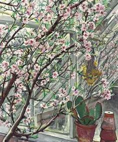 "Laura Knight (1877-1970), ""Peach Blossom"""